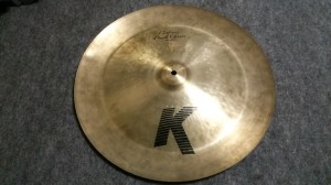 K Zildjian Custom Dark China 19""