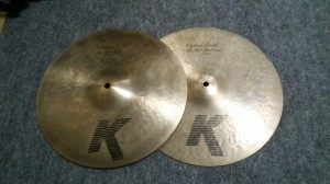 K Zildjian Custom Dark Hi-Hat 14""