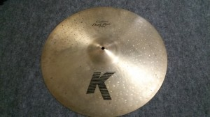 K Zildjian Custom Dark Ride 20""