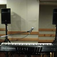 電子ピアノ弾き語りセットC
