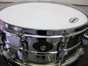 スネア TAMA Stainless Steel Snare PS455 14″
