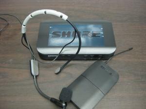 ヘッドセットワイヤレスマイク SHURE BLX14JSM35