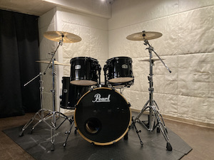 ドラムセット Pearl EXPORTシリーズ(黒)